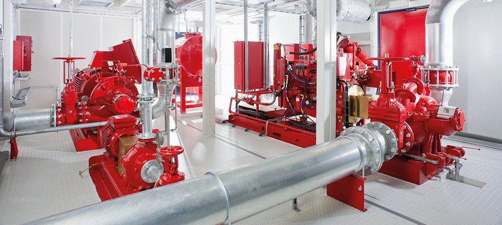 Fire pumps according to international standards – standard and tailor made